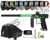 Empire Axe Pro, EVS & Z2 Package Kit - Dust Black/Polished Green