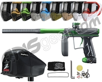 Empire Axe Pro, EVS & Z2 Package Kit - Dust Grey/Polished Green