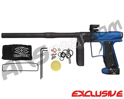 Empire Axe Pro Paintball Gun - Dust Black/Blue Fade