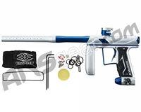 Empire Axe Pro Paintball Gun - Dust Silver/Polished Blue