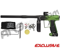 Empire Axe Pro Paintball Gun - Dust Black/Lime Fade