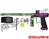 Empire Axe Pro Paintball Gun - Polished Acid Wash Purple/Lime Fade