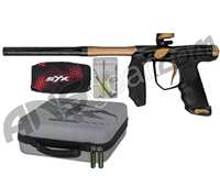 Empire Axe SYX Paintball Gun - Polished Black/Dk Gold