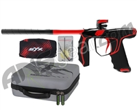 Empire Axe SYX Paintball Gun - Polished Black/Red