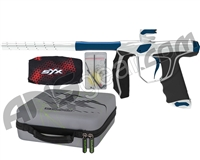Empire Axe SYX Paintball Gun - Dust Silver/Blue