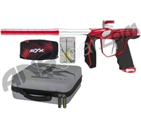 Empire Axe SYX Paintball Gun - Red/Dust Silver
