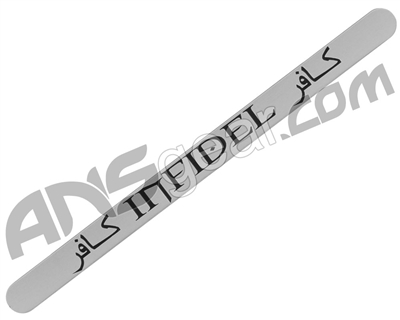 Empire BT-4 Gun Tag - Infidel - Silver