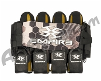 Empire Compressor Pack Hex FT Paintball Harness - 4+7 - Green