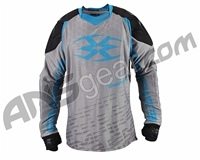Empire 2015 Contact F5 Paintball Jersey - Grey/Blue