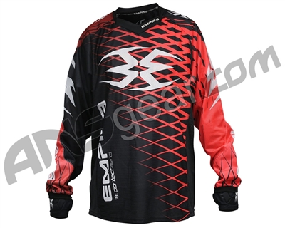 Empire 2015 Contact Zero F5 Paintball Jersey - Black/Red