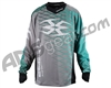 Empire 2015 Contact Zero F5 Paintball Jersey - Grey/Teal