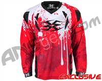 Empire Contact TT Padded Paintball Jersey - Blood Red