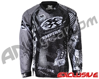 Empire Contact TT Padded Paintball Jersey - Grunge Grey