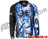 Empire Contact TT Padded Paintball Jersey - Ransom Blue