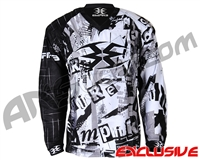Empire Contact TT Padded Paintball Jersey - Ransom Grey