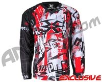 Empire Contact TT Padded Paintball Jersey - Ransom Red