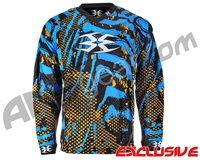 Empire Contact TT Padded Paintball Jersey - Skinned Dolphin Orange