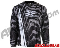 Empire Contact TT Padded Paintball Jersey - Viper White
