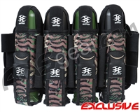 Empire Contact TT Paintball Harness - 4+7 - Skinned Woodland Camo