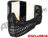 Empire E-Flex Paintball Mask - Black w/ HD Gold Lens
