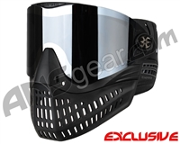 Empire E-Flex Paintball Mask - Black w/ Mirror Chrome Lens
