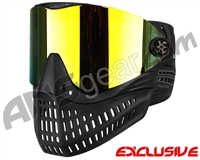 Empire E-Flex Paintball Mask - Black w/ Mirror Fire Lens