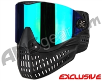 Empire E-Flex Paintball Mask - Black w/ Mirror Green Lens
