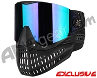 Empire E-Flex Paintball Mask - Black w/ Mirror Purple Lens