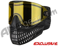 Empire E-Flex Paintball Mask - Black w/ Yellow Lens