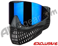 Empire E-Flex Paintball Mask - Grey w/ Mirror Blue Lens