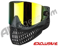 Empire E-Flex Paintball Mask - Grey w/ Mirror Fire Lens