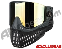 Empire E-Flex Paintball Mask - Grey w/ Mirror Gold Lens