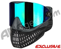 Empire E-Flex Paintball Mask - Grey w/ Mirror Green Lens