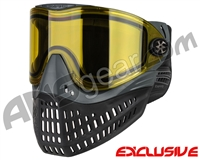 Empire E-Flex Paintball Mask - Grey w/ Yellow Lens