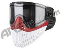 Empire E-Flex Paintball Mask - Black/Red/White