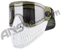 Empire E-Flex Paintball Mask - Olive/White/White