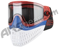 Empire E-Flex Paintball Mask - Red/Blue/White