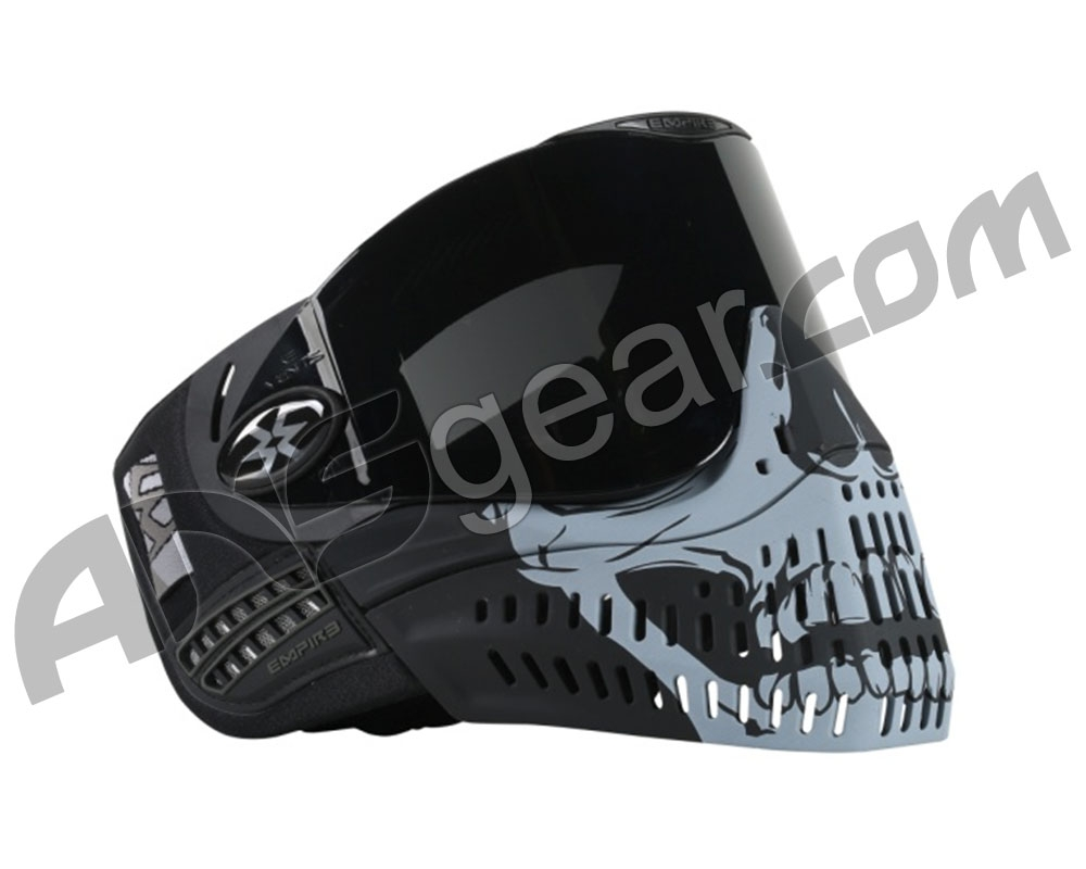 just Face Plate LAST ONES Empire Eflex Paintball Skull Face Plate and Foams