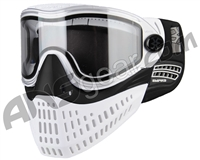 Empire E-Flex Paintball Mask - White/Black/White