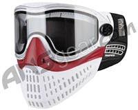 Empire E-Flex Paintball Mask - White/Red/White