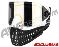 Empire E-Flex Paintball Mask - White w/ HD Gold Lens