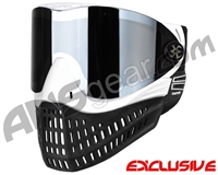 Empire E-Flex Paintball Mask - White w/ Mirror Chrome Lens