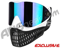 Empire E-Flex Paintball Mask - White w/ Mirror Purple Lens