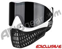 Empire E-Flex Paintball Mask - White w/ Ninja/Black Lens