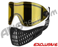 Empire E-Flex Paintball Mask - White w/ Yellow Lens