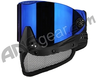 Empire E-Mesh Airsoft Mask - Blue w/ Blue Mirror Lens