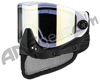 Empire E-Mesh Airsoft Mask - White w/ Gold Mirror Lens
