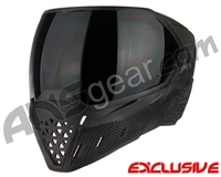 Empire EVS Paintball Mask - Black/Black w/ Ninja Lens