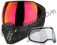 Empire EVS Paintball Mask - Black/Black w/ Sunset Lens