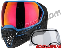 Empire EVS Paintball Mask - Black/Blue w/ Sunset Lens
